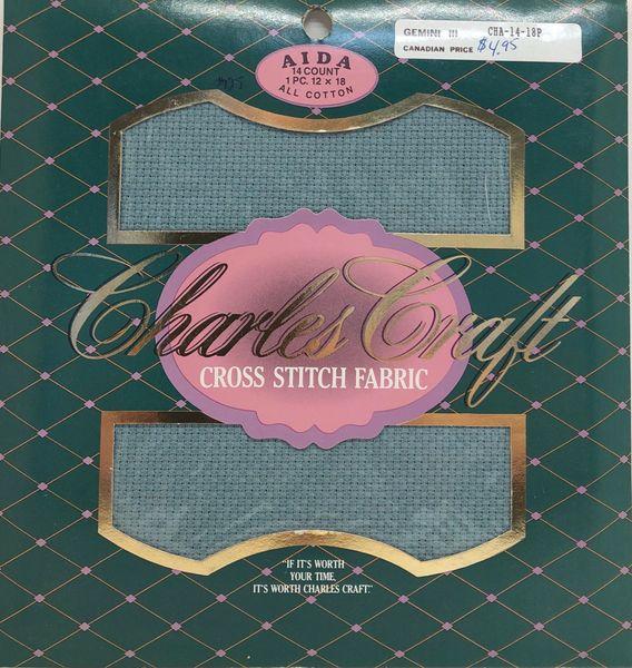 Charles Craft - 14ct Aida Cloth, Pine Mist