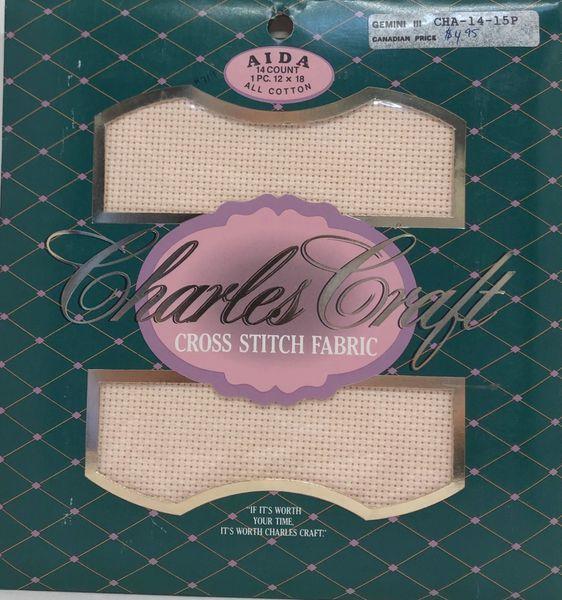 Charles Craft - 14ct Aida Cloth, Blush