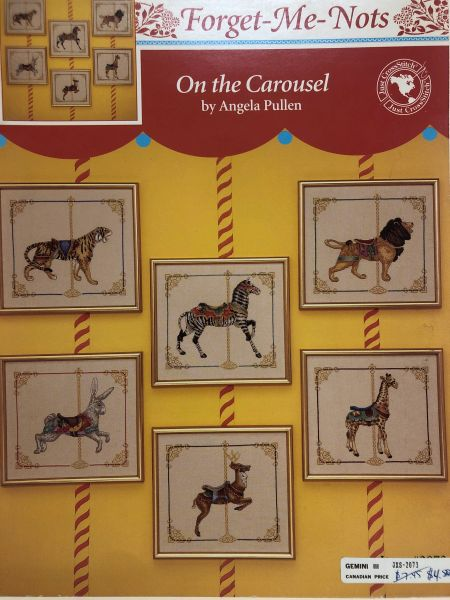 On The Carousel by Angela Pullen