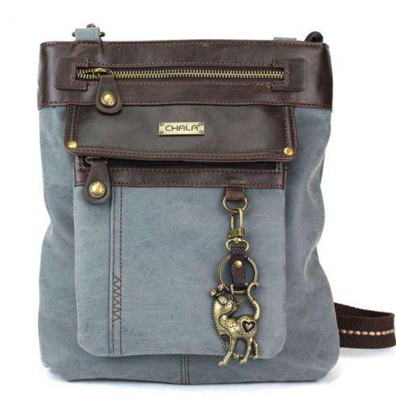 Chala Handbag - 3-in-1 Gemini Crossbody Bag - Slim Cat