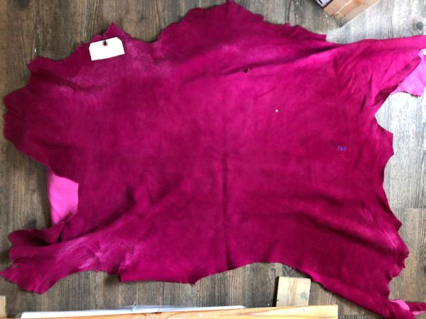 Deer Hide Fuchsia 8.5 sq ft
