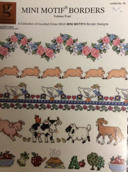 Mini Motif Borders - Pattern
