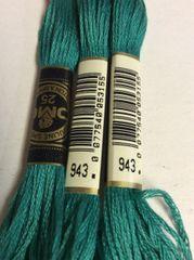 DMC Embroidery Floss – #943