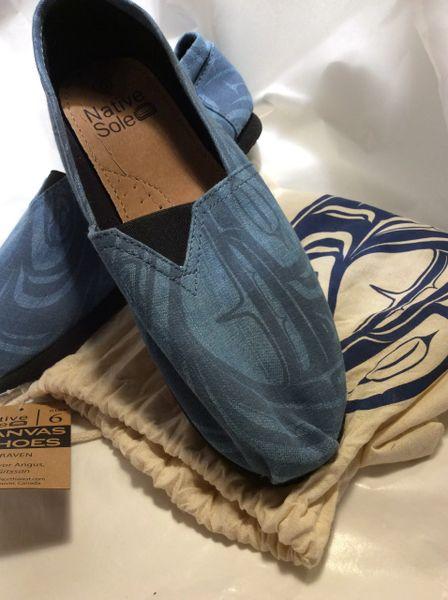 Native Sole - Canvas Shoes, Raven