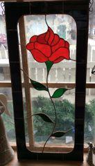 Single Rose Panel