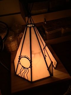 Tee Pee Night Light