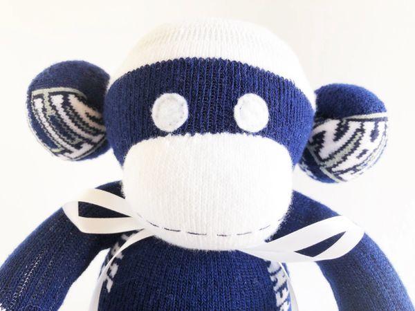 Sock Monkey University of Tennessee Tennessee Graduation Gift Volunteers Sock Monkey Orange Sock Monkey College Gift NCAA