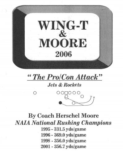 "Coach Moore and ""The Pro/Con Attack"" Jets & Rockets"