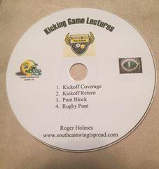 4 part kicking game DVD