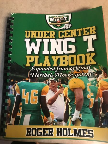 "Under Center Wing T Coaching Manual ""From the Film Room to the Game Field"""