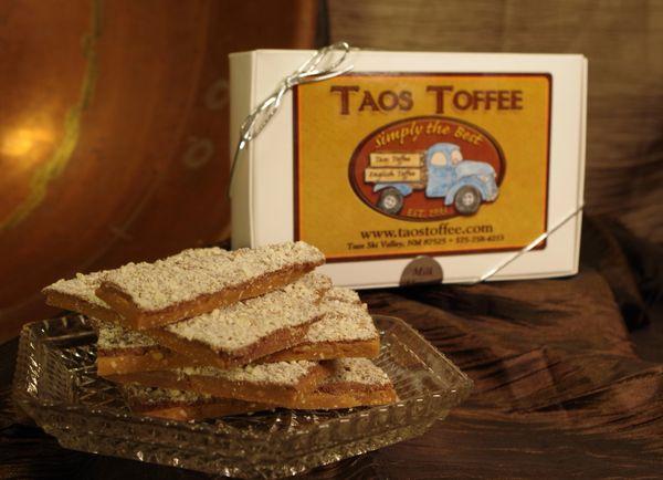 Milk Chocolate Almond Toffee 1 lb. Gift Box