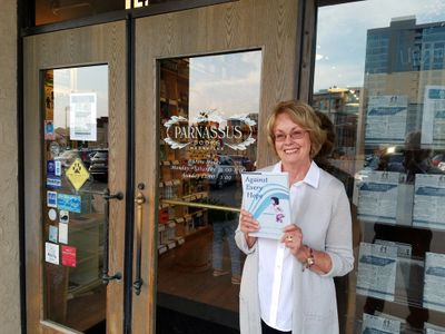 Bonnie Tinsley attending the Southern Festival of Books reveal party hosted by Parnassus Books.