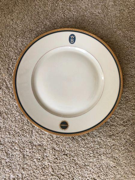 Zeppelin Reederei Porcelain plate