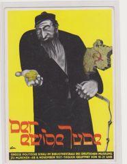 Anti Jewish postcard