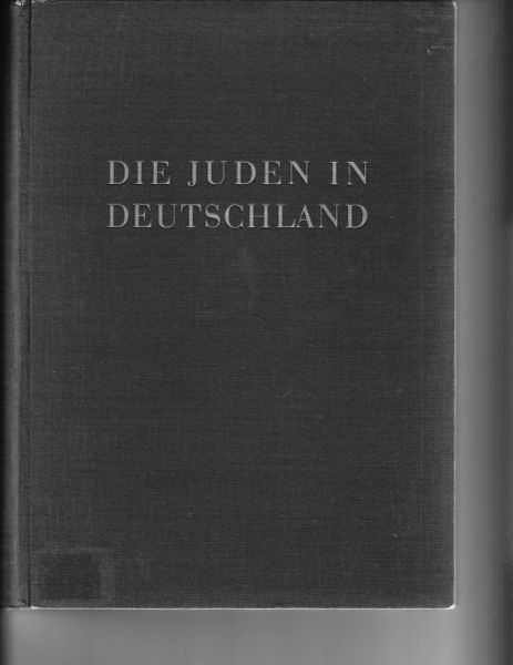 "Anti-jewish book, ""Juden in Deutschland"""
