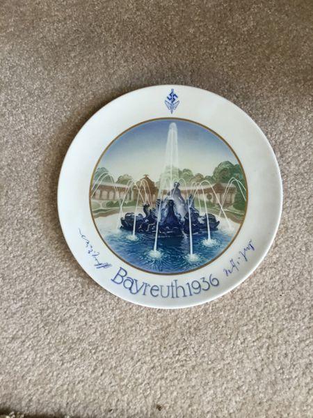Bayreuth festival Rosenthal plate