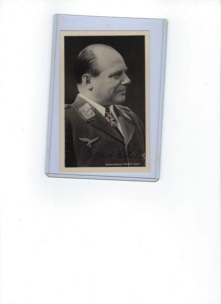 Ernst Udet signed photo