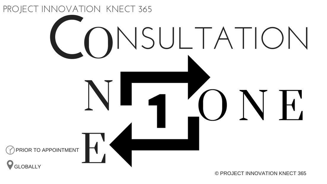 Project Innovation Knect 365,  consultation one on one