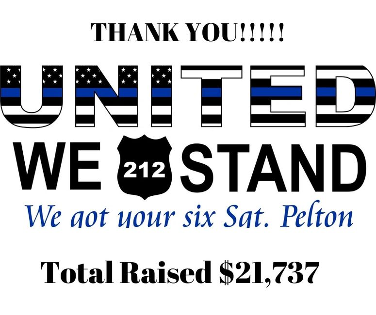 AMAZING!!  The out pouring of generosity on behalf of SGT Pelton was incredible.  Thank you for buyi