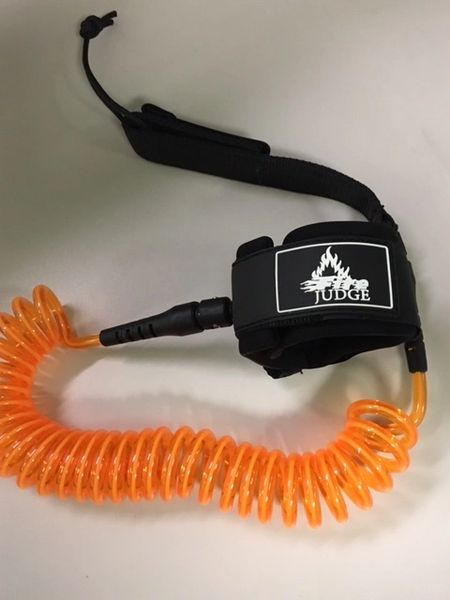 10 ft Coiled SUP leash