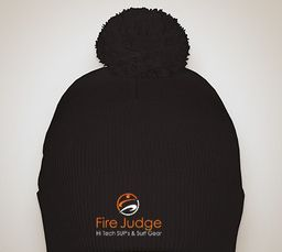 FireJudge knit winter hat
