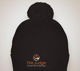 FireJudge knit winter hat