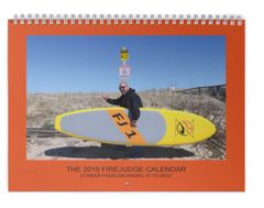 The 2019 FireJudge SUP calendar