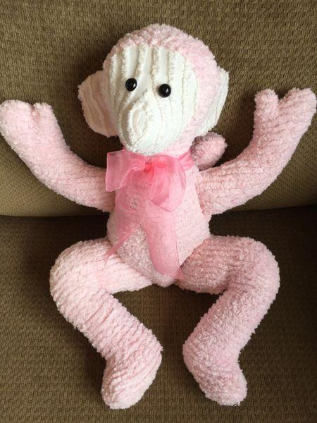 Chenille Monkey