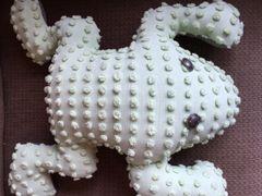 Vintage Chenille Frog