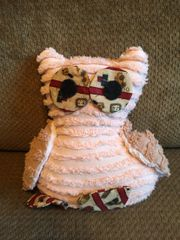 Vintage Chenille Owl