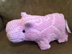 Lavender Vintage Chenille Bedspread Hippo