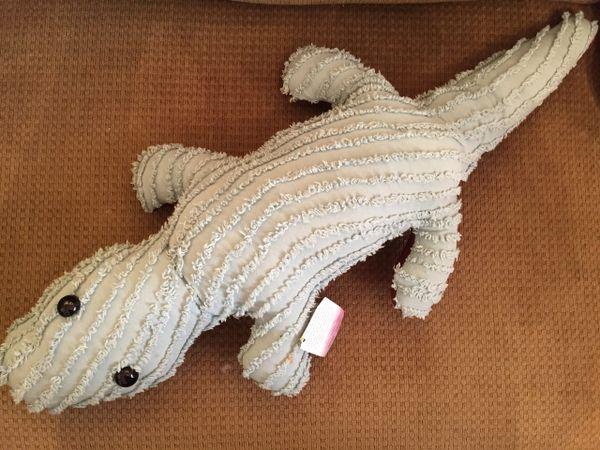 Vintage Chenille Alligator 001