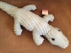Vintage Chenille Alligator 002