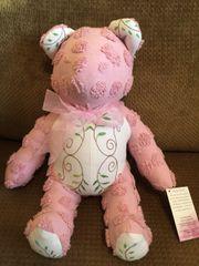Vintage Chenille Teddy Bear 003