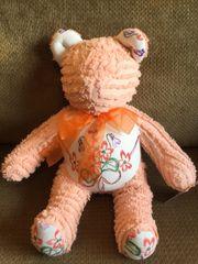 Vintage Chenille Teddy Bear 008