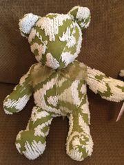 Vintage Chenille Teddy Bear 011