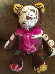 Vintage Chenille Teddy Bear 012