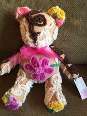 Vintage Chenille Teddy Bear 016