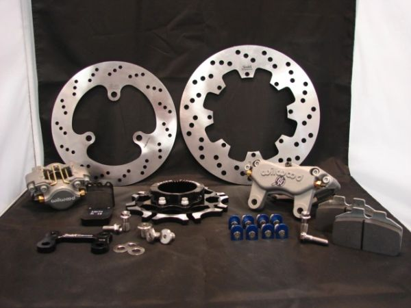 Aircraft Alloy Steel Complete Brake System for Sprint Cars with Wilwood  Calipers