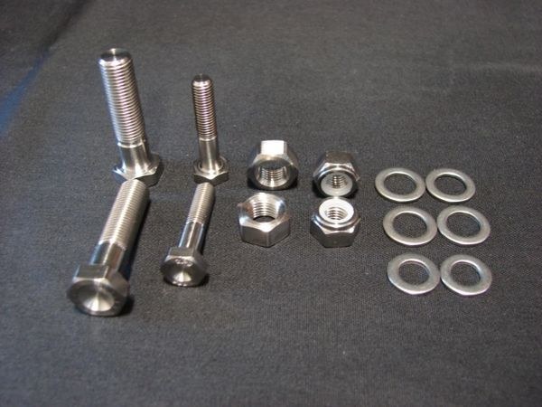 D1 Micro Throttle and Brake Pedal Cross Bar Style Bolt Kit