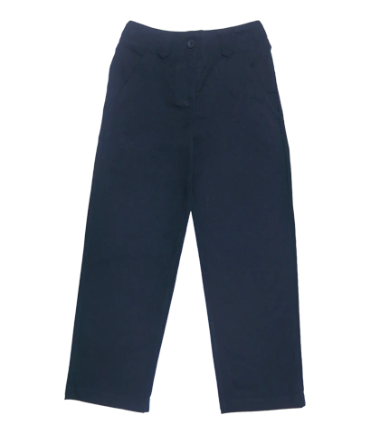 Flat front Girls Slim Fit Pant