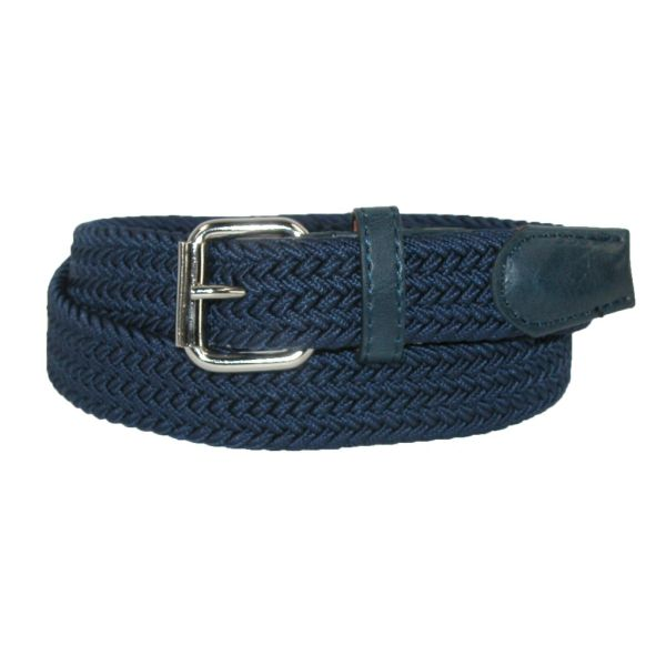 Elastic Braided Buckle Belt
