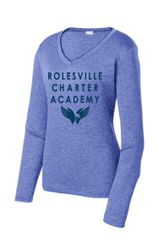 RCA Ladies Heather Contender Moisture Wicking LS Jersey