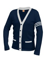 Ladies/Girls Middle School Cardigan Sweater - Blazer Alternative