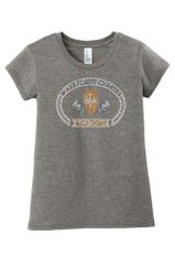 WFCA Girl's/Ladies tee with Rhinestone or Glitter Wolf Head