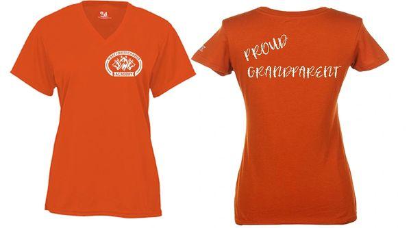 WFCA Proud Parent/Grandparent Spirit Shirt - Men's or Ladie's - You Personalize