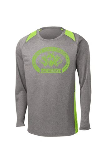 Unisex Colorblock Contender Long Sleeve Spirit Shirt
