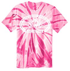 WFCA Breast Cancer Awareness Spirit Tie Dye Tee