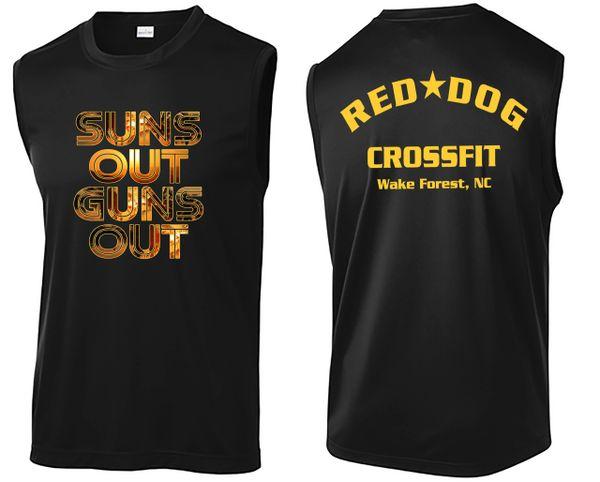 Sun's Out Gun's Out Men's Next Level Muscle Tank