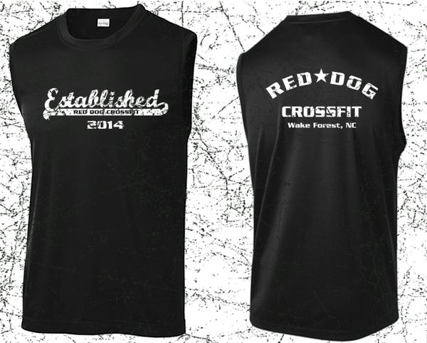 Red Dog Anniversary Men's Next Level Muscle Tank